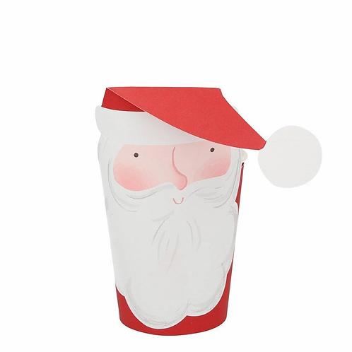 Jolly Santa Cups