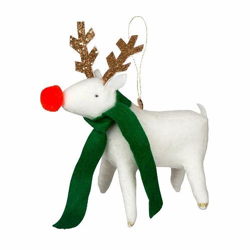 Reindeer Felt Tree Decoration