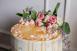 Flowers Wedding Cake Designs