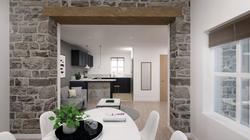Cressbrook Mews Kitchen Interior