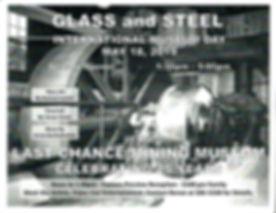 LAST CHANCE. Glass & Steel poster.jpg