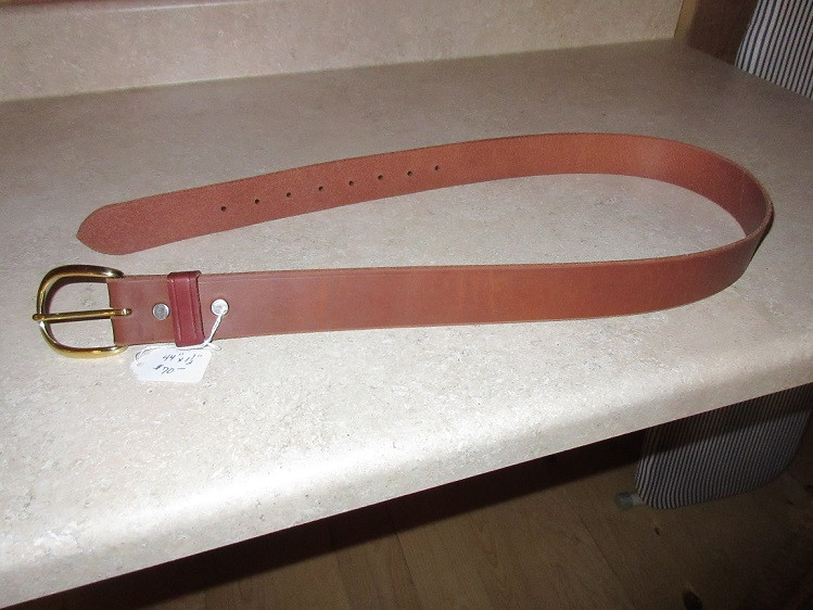 Basic plain belt