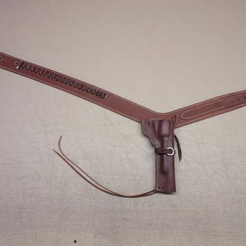 Custom Gun Belt & Holster