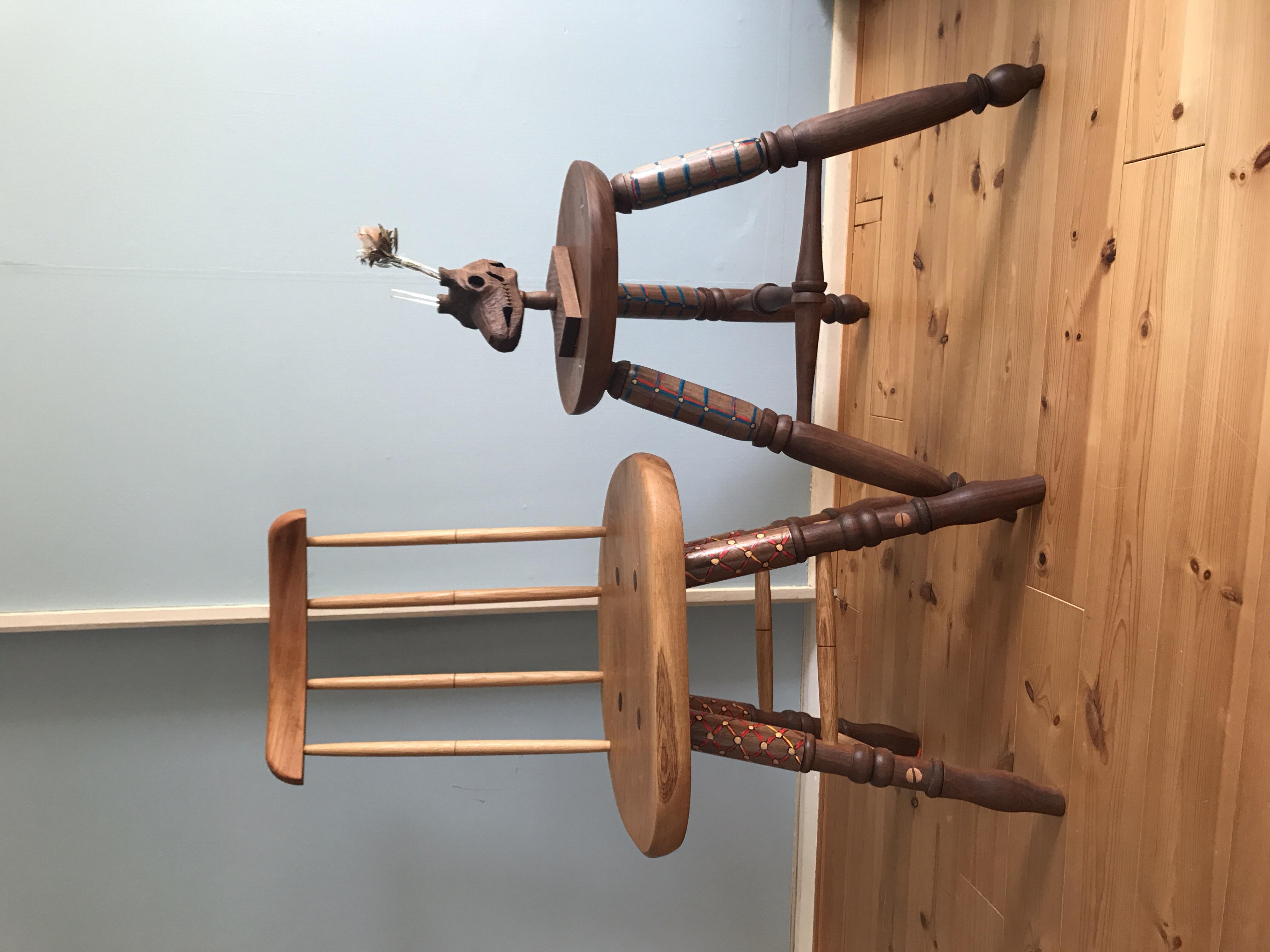椅子とスツール