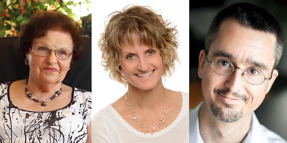 Colloque Sylvie Ouellet, Nicole Dron et Jean-Charles Chabot