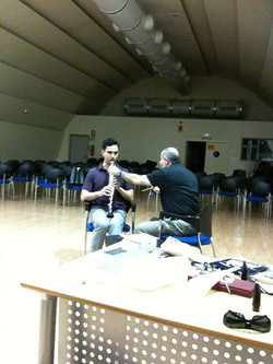 Yehuda with Ramon Wodkovsky