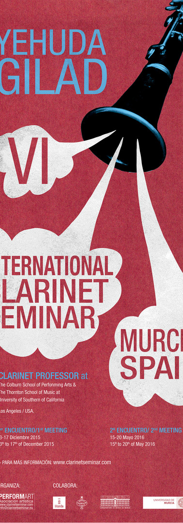 VI Intenartional Clarinet Seminar Yehuda
