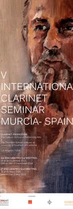 V INTERNATIONAL CLARINET SEMINAR FLYER R