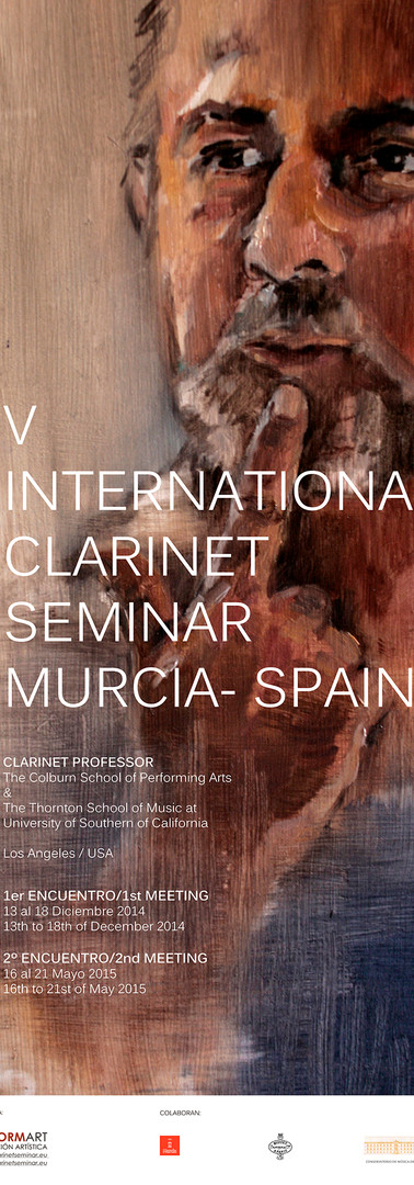 V INTERNATIONAL CLARINET SEMINAR FLYER R