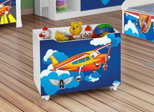 Caixa de brinquedo Avião