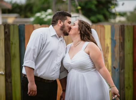 Audra + Jonathan's Backyard (Covid Friendly) Wedding | 5.23.2020