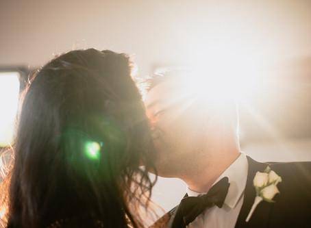 Natalie + Pasha's Minimized AirBNB Wedding