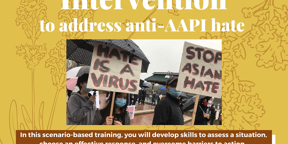 Active Bystander Intervention Training 4/24