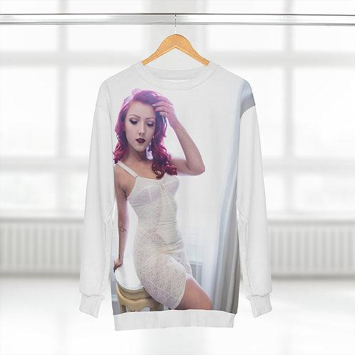 Unisex Sweatshirt (Vintage Lingerie Color Photo)