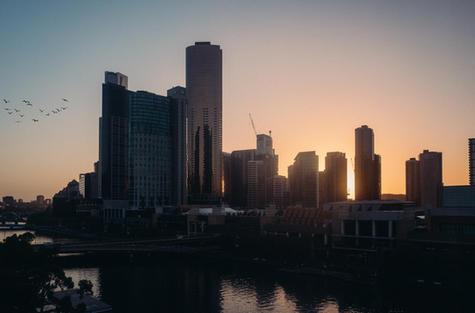 Sunrise over Melbourne - Lecia Q