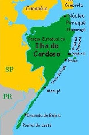 Ilha do Cardoso (para 4 aventureiros) 3 dias e 2 noites