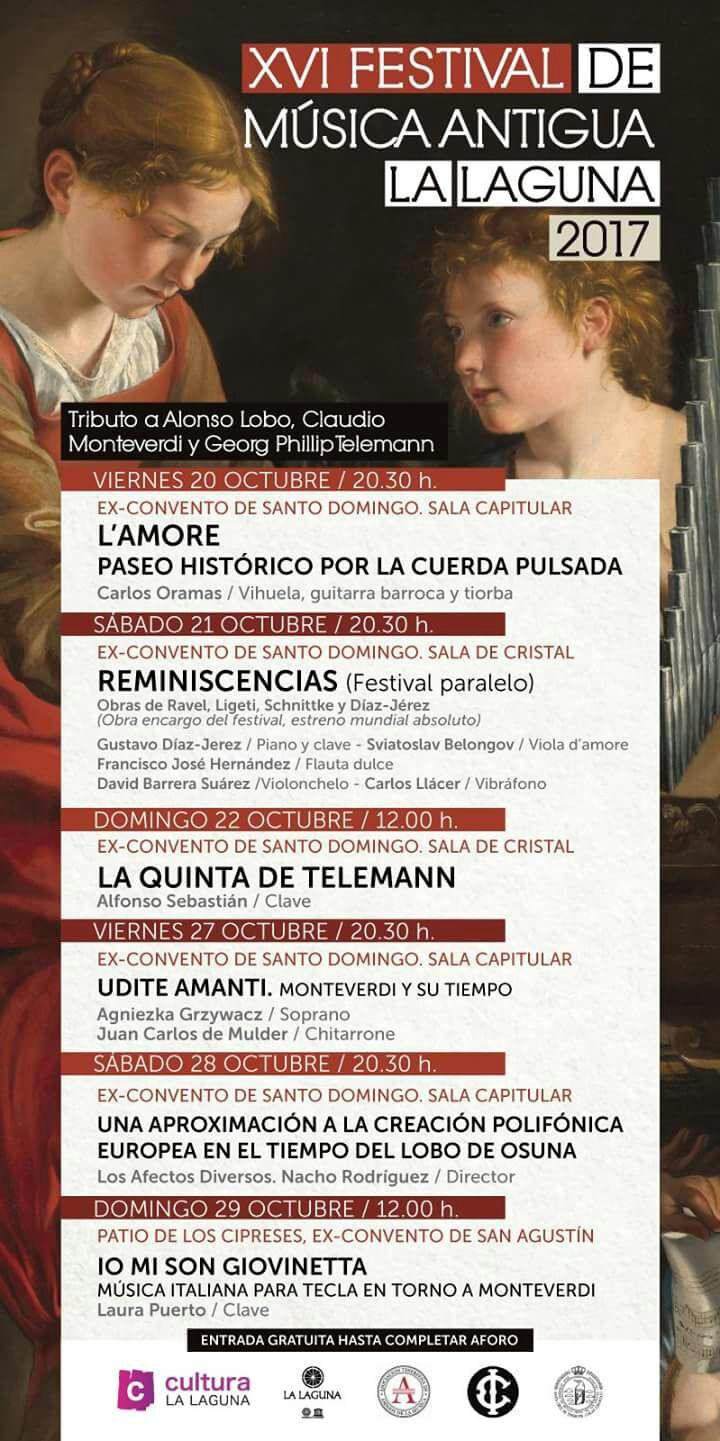 Festival Musica Antigua de La Laguna