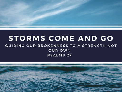 Storms In Our Lives ~Part 2