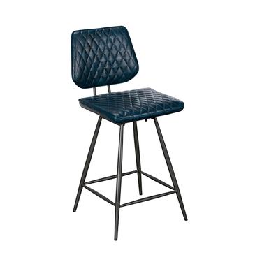 Dalton stool blue