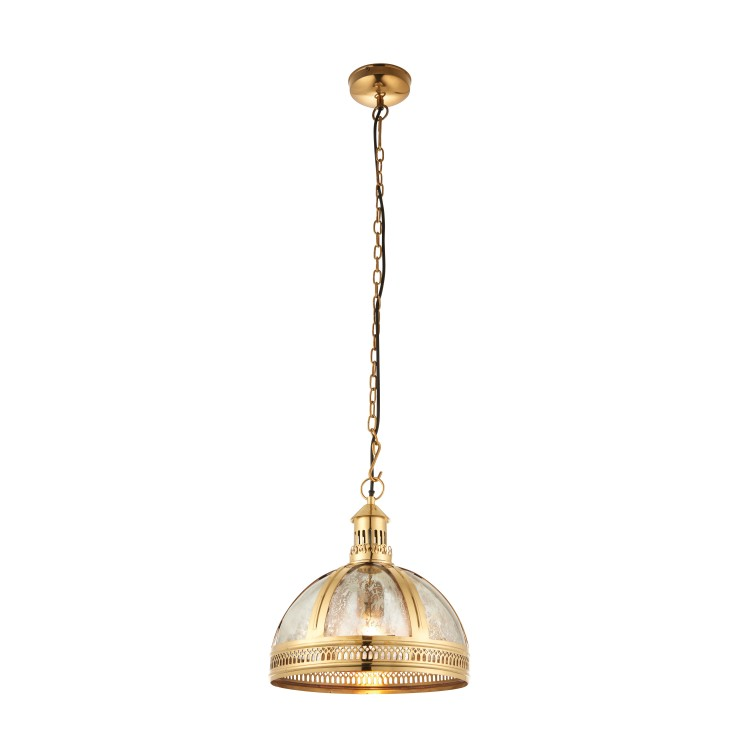 Vienna Light Brass Pendant