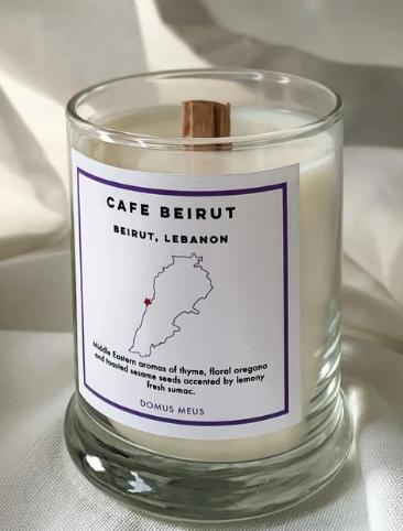 Beirut, Lebanon Soy Candle