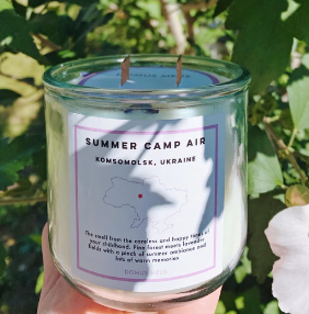 Summer Camp Air Soy Candle