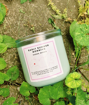 Early Summer Morning Soy Candle