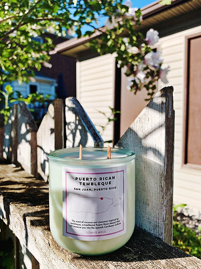 Puerto Rican Tembleque Soy Candle