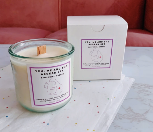 Your Personalized Candle