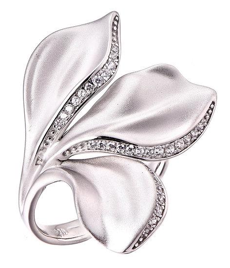 Matte Leaf Ring