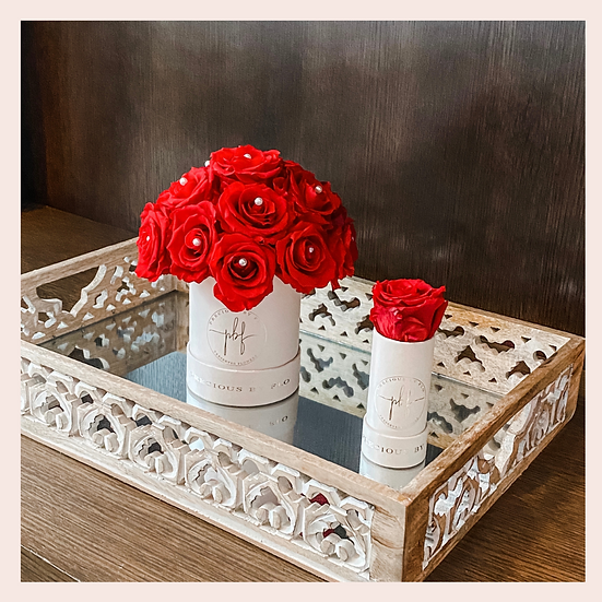 Duo Specialty Round Flower Box