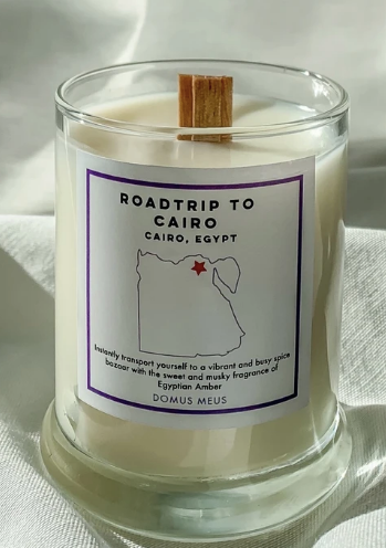 Cairo, Egypt Soy Candle