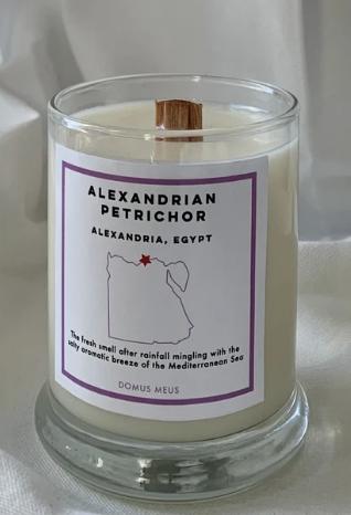 Alexandrian Petrichor Soy Candle