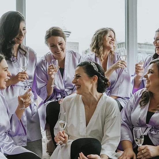Custom Lace Fringe Robes