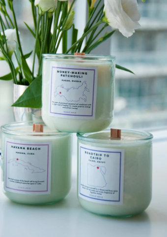 Moneymaking Patchouli Soy Candle