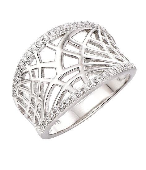 Wide Lattice Ring