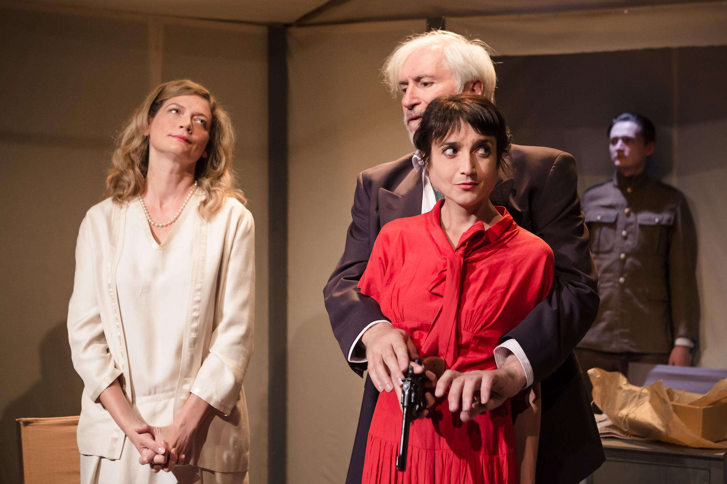 Sophie Ward, Jack Klaff, Claire Redcliffe - by Scott Rylander