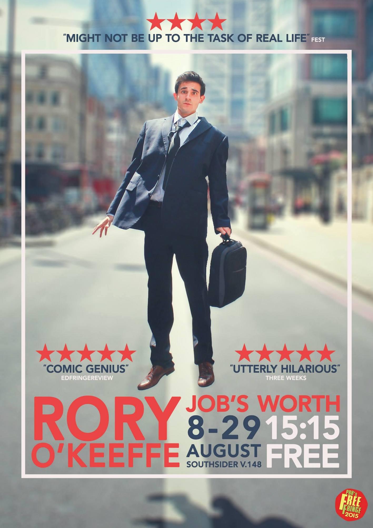Rory O'Keeffe 2015