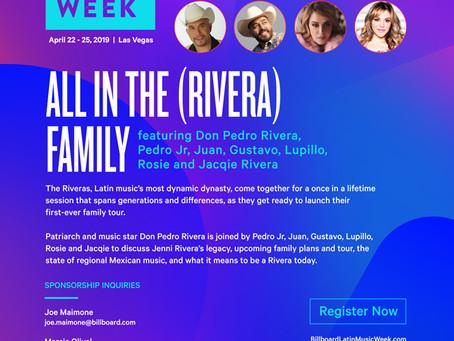 La Dinastia Rivera en los Billboard 2019