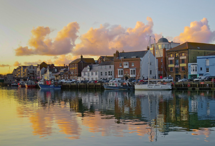 Weymouth at Sunset