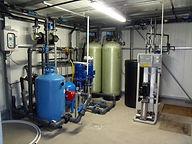 Système d'irrigation destiné à une serre de recherche