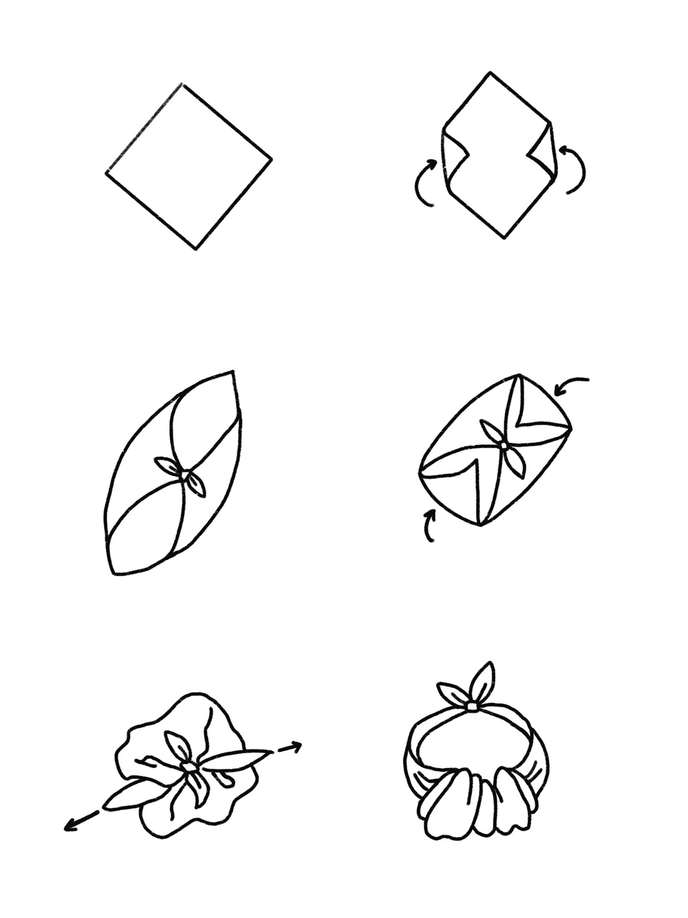 CARMENTA - drawing basket knot tutorial, Costa Rica design and art printed on fabric