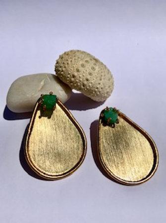 Emerald Double Use Earring