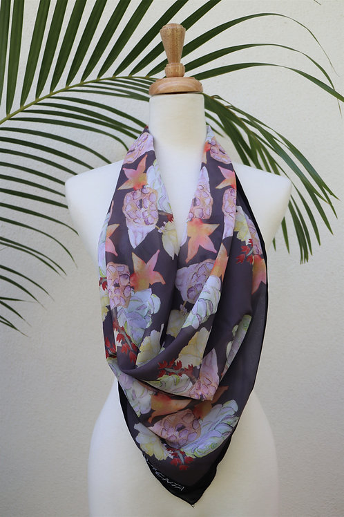 Medium Chiffon Square Scarfs