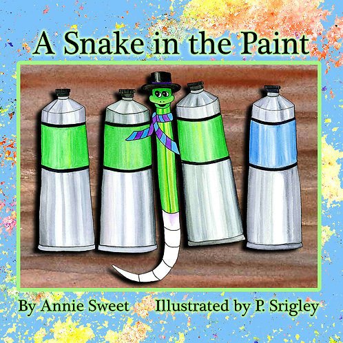A Snake in the Paint