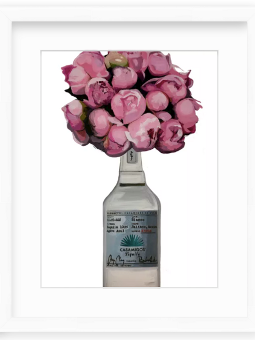Peonies and Casamigos