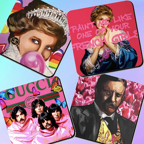 Famous Faces Coasters