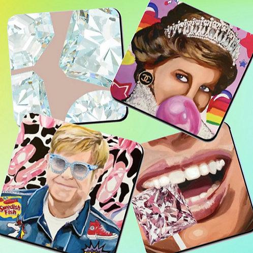 Denim & Diamonds Coasters