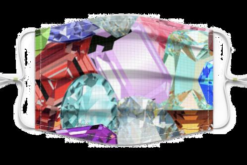 Mixed Diamonds Mask