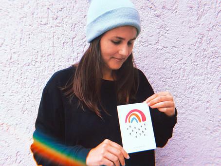 Sarah Gilgien und ihr Kleiner Regenbogen